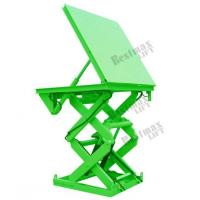 China 3000Kg Loading Hydraulic Stationary Scissor Lift Table For Cargo Transfer on sale