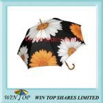 "23"" Auto Promotion Wooden Umbrella(WT5078) Manufactures"