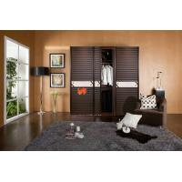 Anti aging / Space Saving Double Plastic Remote Control Sliding Doors Without Glass Manufactures
