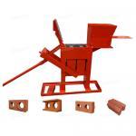 Large Capacity Manual Brick Press Machine , Block Making Machine Long Life Manufactures