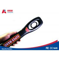 Power Switch Control Handheld Metal Detector Wand With Low Battery Indicator Manufactures