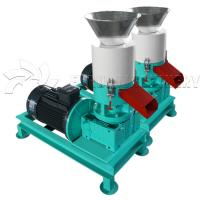 China Portable Electric Wood Pellet Making Machine All In One Pellet Maker customize Color on sale