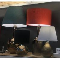 China Metal color Ceramic Home Table Lamp for sale