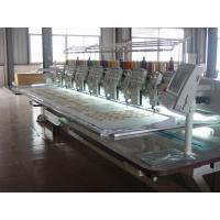 Flat / Cording / Taping Multi Head Mixed Embroidery Machine With Automatic Thread Trimmer Manufactures