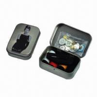 Sewing Kit with Metal Box Manufactures