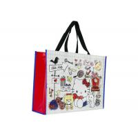Waterproof Custom Shopping Bags Environment - Friendly For Grocery Store Manufactures