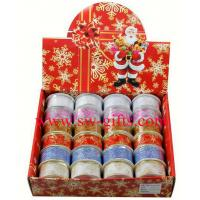 Organza Bling Ribbon Wreath Christmas Present Weeding Wire Edged Packing Gifts Manufactures