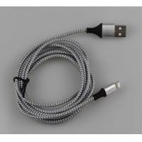2.0 A Apple Lightning To USB Cable for iPad Air iPad Mini Braided Fabric Durable Manufactures