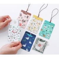 Promotional Gifts Lanyard ID Card Holder Bus Card Cover Lovely Carton Theme Manufactures