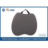Portable Cooling Gel Visco Elastic Memory Foam Seat Cushion with High Quality Cover Manufactures