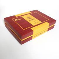 Wooden Texture Special Paper Cardboard Gift Boxes EVA And Velvet Inner Manufactures