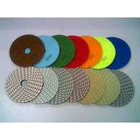 High working efficiency diamond polishing pads for marble,granite Manufactures