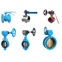 China Double End Flanged Butterfly Valves For Potable Water Supply / Distribution on sale
