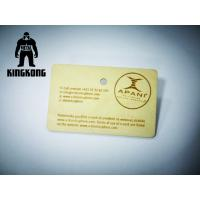 China Custom Engraved Fir / Maple / Cherry Wood Business Member Card With Silk Screen Printing on sale