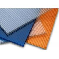 6mm Two Layer Polycarbonate Hollow Sheet PC Cover Greenhouse Panel Manufactures