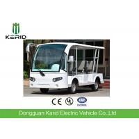 Buy cheap White 8 Passenger's Shuttle Bus 48V 4KW Electric Sightseeing Vehicle Car from wholesalers