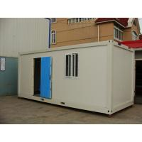 Galvanized Sheet Metal Storage Container Houses , PVC Window Manufactures