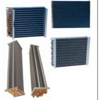 Flat Sheet Copper Finned Pipe Heat Exchanger Commercial 110 - 120 Voltage Manufactures
