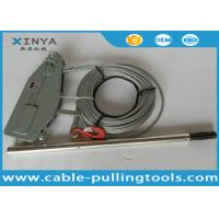 Hand Hoist Cable Puller Winch Cable Pulling Tools With 20 meter Wire Rope Manufactures