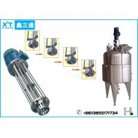 Stainless Steel High Speed Shearing Homogenizer Tank for Mixed Beverage Line Manufactures
