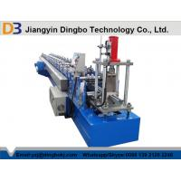 China Galvanized Sheet Metal Forming Machine  , Garage Roller Shutter Door Forming Machine on sale