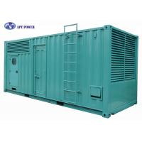 1800RPM Heavy-Duty Cummins Diesel Generator with 20ft Container Canopy Manufactures