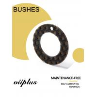 China High Load Impact Vibration Resistant  Composite Inch Dimension Thrust Washer Copper Sleeve BLACK POM Bushings on sale