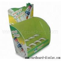 Drinks Cardboard Counter Showing Rack Manufactures