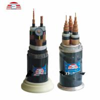 XLPE Insulated Underground High Voltage Power Cable With Copper / Aluminum Armoured / Unarmored Manufactures