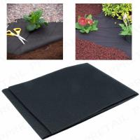 50G Heavy duty weed control fabric ground cover membrane gardening landscape mulch Manufactures