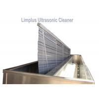 Double Tank 330L Large Ultrasonic Cleaners , Venetian Blind Cleaners Window Blinds Cleaning Manufactures