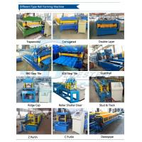 Hydraulic Automatic Cutting Tile Roll Forming Machine / Cut To Length Machine