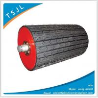 Rubber lagging head pulley, pulley lagging rubber sheet Manufactures