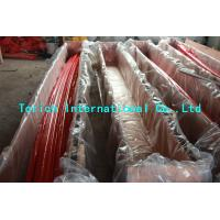 Nimonic 80A Alloy Steel Seamless Pipes Good Creep Resistance PED Certification