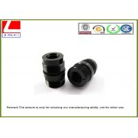 Black POM / Derlin ABS / PVC CNC Plastic Machining For Mechanical Parts Manufactures