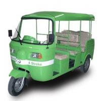 250cc Rear Water Cooled  3 Wheeler Tricycle Autorickshaw Manufactures