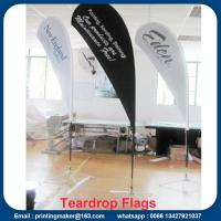 Custom Teardrop Flag Signs for Business Manufactures