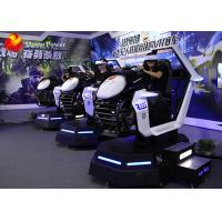 Excited Experience 9D VR Cinema Commercial Play Arcade 9D Vr Racing Car Game Manufactures