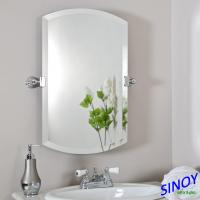 China Unframed Bathroom Glass Mirror In Different Shapes And Sizes For Bathroom Applications for sale