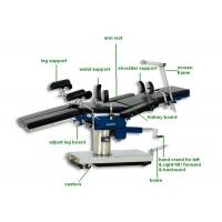 Hospital Multi-fuction Manual Hydraulic Operating Tables With X-ray Examination Operating Room Table Manufactures