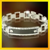 fashion magnetic stainless steel bracelet  for men ,fashion mens jewelry Manufactures