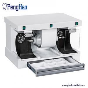 China Dental Laboratory Polishing Compact Unit Vacuum / Dental Lab Polishing Lathe on sale