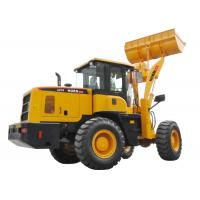 Custom 3T Wheel Loader Front Loader Type Dumping Height 3100mm With Free Spare Parts Manufactures