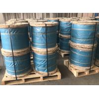 "5/16"" Galvanized Steel Wire Strand Steel Messenger Cable ASTM A 475 Class A EHS Manufactures"