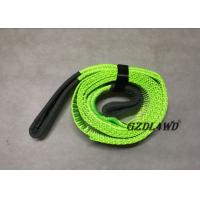 China Light Weight Portable 4x4 Recovery Strap Polyester 3cm Width 8m Length on sale
