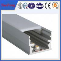 Best Grade Aluminium profile led ,aluminium led lighting profile , OEM Aluminium extrusion Manufactures