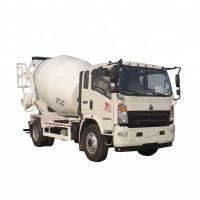6x4 Wheel Concrete Mixing Truck / Stability Truck Mounted Concrete Mixers Manufactures