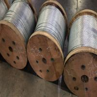 "Buy cheap 1/ 4"" EHS STRAND 5000 FT REELS OF ZINCCOATED STEEL WIRE STRAND from wholesalers"