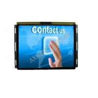 Industrial Capacitive touch 15 inch lcd monitor High Definition 4mm Anti vandal Manufactures