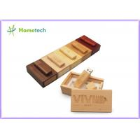 Debossed Logo USB Wooden Memory Sticks 16GB For Company & Individual Manufactures
